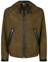 Tom Ford Hooded Suede Parka
