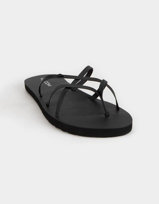 Volcom New School II Womens Black Sandals