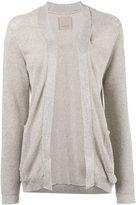 Laneus knitted cardigan - women - Polyamide/Polyester/Viscose - 42