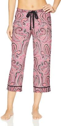 Jockey Women's Printed Cropped Pajama Pant