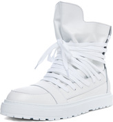 Kris Van Assche Laced Sneaker in White