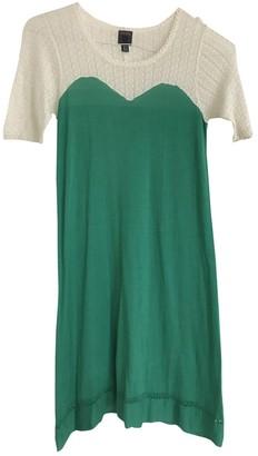 Orla Kiely Green Cashmere Dress for Women