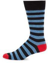Saks Fifth Avenue Wool Blend Striped Socks