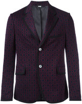 Gucci Horsebit jacquard jacket - men - Cotton - 46