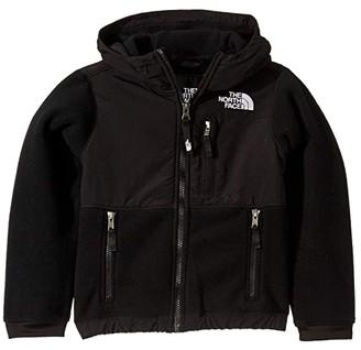 The North Face Kids Denali Hoodie (Little Kids/Big Kids) (TNF Black) Kid's Coat