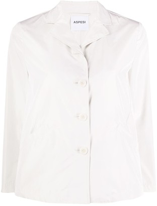 Aspesi Single-Breasted Cropped Jacket