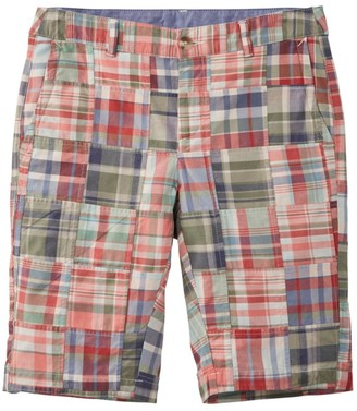 """L.L. Bean Women's Washed Chino Bermuda Shorts, 10"""" Patchwork"""