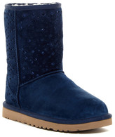 UGG Classic Short Perforated Flora UGGpure(TM) Lined Boot
