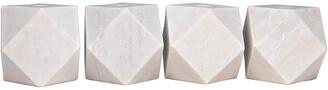 Noir Polyhedron Decorative Candle Holders