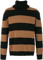Laneus striped jumper - men - Wool - 46