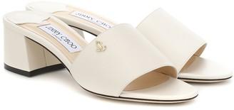 Jimmy Choo Minea 45 leather sandals