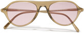 Thumbnail for your product : Oliver Peoples Aviator-style Acetate Sunglasses