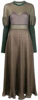 Chloé knitted long-sleeve dress