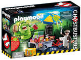 Playmobil GhostbustersTM Slimer with Hot Dog Stand (9222)
