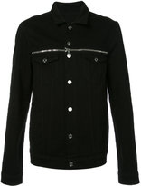 RtA zip detail jacket - men - Cotton - L