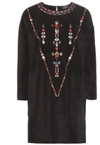 Isabel Marant Maggy embroidered suede tunic