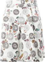 Comme des Garcons x Fornasetti printed shorts - men - Cotton - M