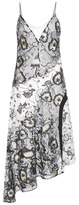 Self-Portrait Nivienne printed crêpe and embroidered tulle dress