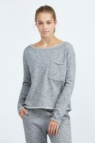 ATM Extended Shoulder Sparkle Sweatshirt