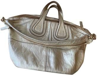 Givenchy Nightingale Gold Leather Handbags