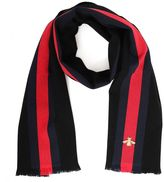 Gucci Scarf With Embroidered Bee