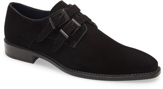 Mezlan Meier Double Monk Strap Shoe