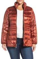 Ellen Tracy Plus Size Women's Water Repellent Quilted Jacket