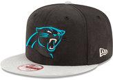 New Era Carolina Panthers Summer Suede 9FIFTY Snapback Cap