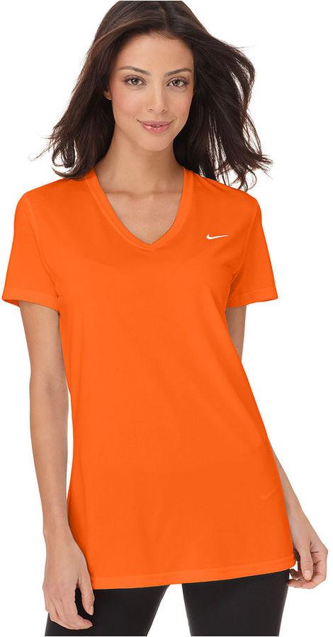 Nike Top, Short-Sleeve Legend Dri-FIT V-Neck Tee