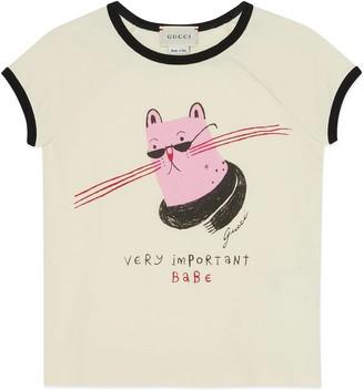 Gucci Children's Alissa Levy print T-shirt