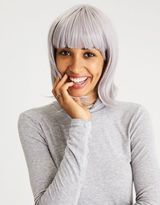 American Eagle Outfitters AE Grey Short Bob Wig