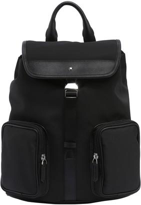 Montblanc Sartorial Jet Leather & Nylon Backpack