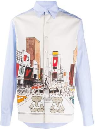 Lanvin Babar elephant-print shirt