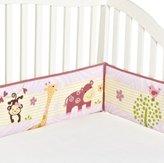 Bedtime Originals Lil' Friends 4 Piece Bumper, Lavender/Pink by