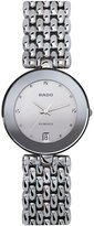 Rado Women's Flourence 35mm Steel Bracelet & Case Sapphire Crystal Quartz -Tone Dial Watch R48792103