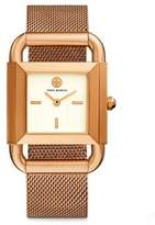 Tory Burch Phipps Rose Goldtone Mesh Watch