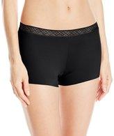 Vassarette Women's Invisibly Smooth Boy Short Panty 4812383