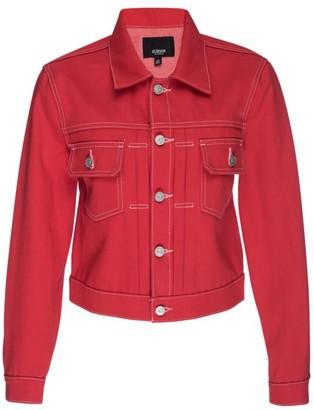 Hudson Lola Shrunken Denim Trucker Jacket