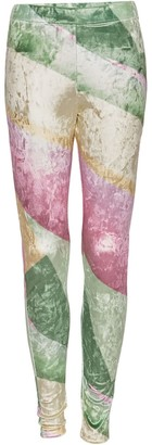Cocoove Veve High Waist Leggings In Velour Patisserie Print