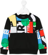 Stella McCartney Biz Cycling print sweatshirt