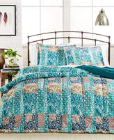 Pem America CLOSEOUT! Painted Patchwork Comforter Set, Created for Macy's