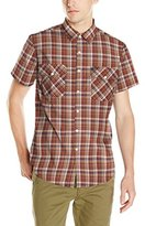 Brixton Men's Memphis Short Sleeve Woven Shirt