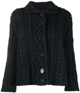 Maison Margiela Knit Wool Cardigan