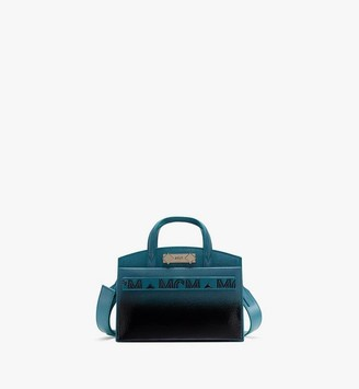 MCM Milano Tote in Patent Leather Gradient