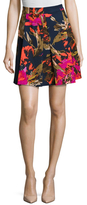 Trina Turk Julienne Two Print A Line Skirt