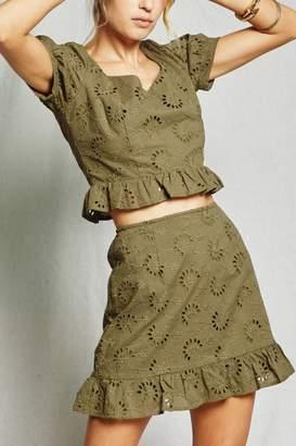 Sage The Label O'Keefe Mini Skirt
