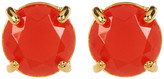 Carolee Round Stud Earrings
