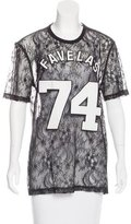 Givenchy Favelas 74 Lace Top
