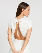 SIR the Label Alena Cropped Tee