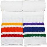 Pride Socks Rainbow Striped Socks -Athletic Tube Socks For Toddlers (Style 3)